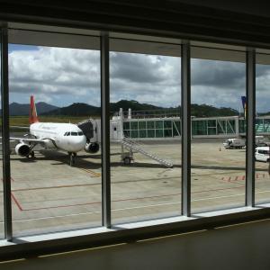 対面  A320  トランスアジア航空