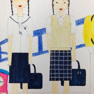武蔵野女子学院高校・共立女子高校夏服