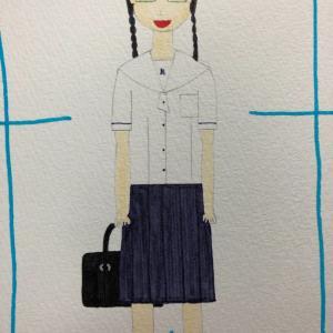 板橋有徳高校夏服