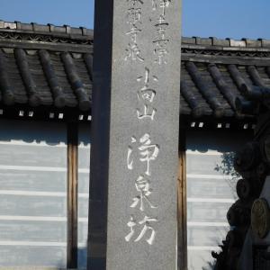 桑名藩士奥方の菩提寺 浄泉坊
