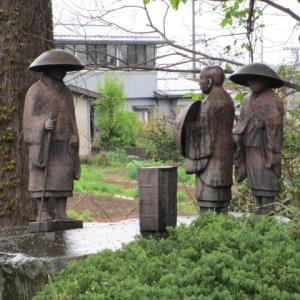 「親鸞聖人」阿部川から藤枝の蓮生寺へ