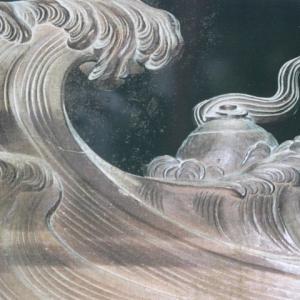 今年は命あっての物種 波の伊八作品を巡ろう
