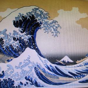 今年は命あっての物種 行元寺と妙覚寺で波の伊八作品を