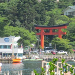 「親鸞聖人」一行は箱根から静岡へ