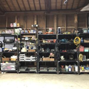 車庫の続き