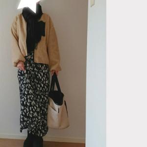 ママコーデ*coca花柄スカートで休日コーデ♡半額以下のクリアランスセール!