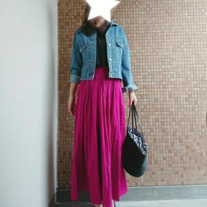 お勧めプチプラコットンフレアスカート全色再入荷♥今日から小顔UVハットも半額セール♡