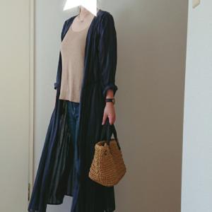 coordinate☆ガウンシャツワンピを日差し避けに♡3coinsで見つけたお得可愛い購入品♡