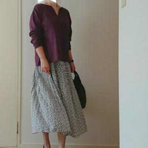 coordinate☆パープルカラーで秋色コーデ♡recaの秋物準備フェア♡