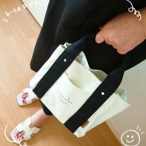 着レポ♥スタイルオンバッグ人気の仕切り付ミニトート♥気付かれてない20%OFFクーポンも♪