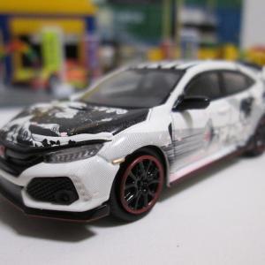 MINI GT 37 1/64 HONDA シビック Type R アートカーマンガ 2018 パリオートショー