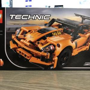 LEGO TECHNIC コルベット ZR1を作ってみた