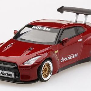 ミニカー発売情報 MINI GT 1/64 Honda シビック Type R HKS、LB★WORKS Nissan GT-R R35ほか