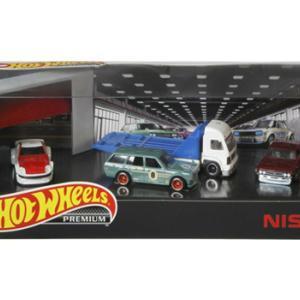 ミニカー発売情報 1/64 Hot Wheels プレミアムコレクターセット Nissan Garage