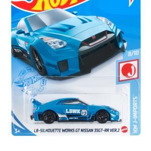 予約受付中!!ホットウィール(Hot Wheels) ベーシックカー LBシルエット ワークス GT ニッサン 35GT-RR VER.2 HBP03