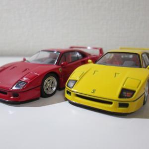 タカラトミーモールオリジナル トミカリミテッドビンテージNEO フェラーリ F40(黄)