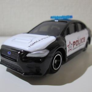 トミカショップ限定トミカ スバル WRX S4 海外パトロールカー仕様