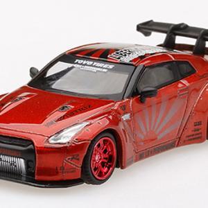ミニカー発売情報 MINI GT 1/64 LB★WORKS Nissan GT-R R35 タイプ2 リアウイング バージョン3 2種