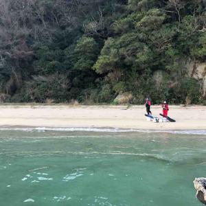 2月23日 山口県 笠佐島でフカセ釣りをしました♪