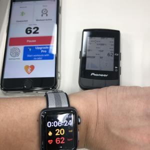 Apple watchの心拍計