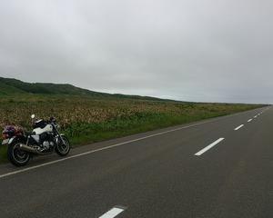 地平線から車が現れる!北海道の広いどこまでも続く直線道路って実は辛い?