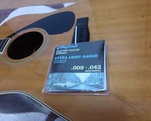 アコースティックギターにエレキの弦は邪道なの?