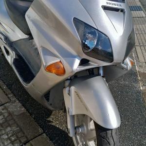 放置されたバイクの修理代が思いのほか高額に!