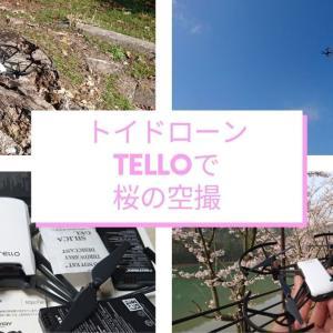 トイドローン「TELLO」で桜を空撮、その性能は?