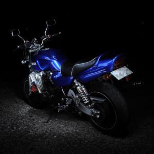 バイクの黒抜き写真を撮影してみたら意外と簡単だったので撮り方を紹介してみる