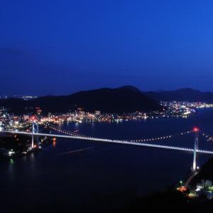 関門橋や下関の夜景は火の山公園がおすすめ