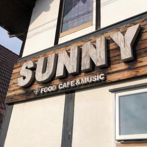 SUNNY FOOD CAFE&MUSIC:「㊗️9周年」。