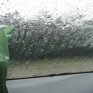 大雨と雷で怖いの那須高原夏編