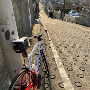 自転車屋に寄ってからの、都内坂道探し