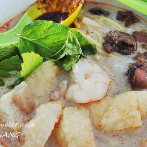 【ペナン・リトルインディア】 咖喱面(Curry Mee)とタンドリーチキンと街並み
