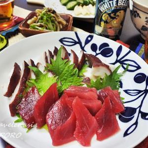 【北海道・自炊】真子(真鱈の子)と鱈のバター醤油炒め & タコの頭