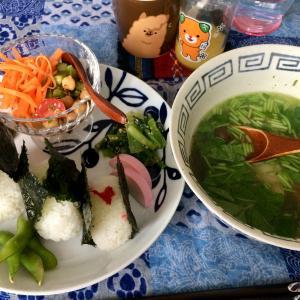 自宅で食べた おにぎり2020春 in 札幌!