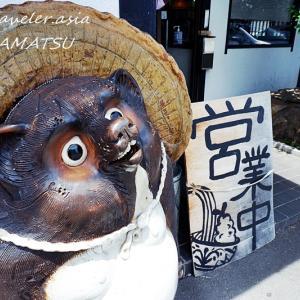 """【高松・鬼無(きなし)】サクッとプリっと肉厚な海老天!""""手打ちうどん 桃太郎館"""""""