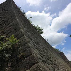 うどんじゃないよ、丸亀城🏯これが噂の石垣の美!