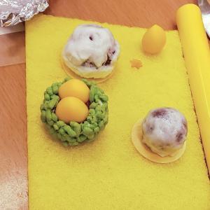 秋の和菓子ありがとうございました。
