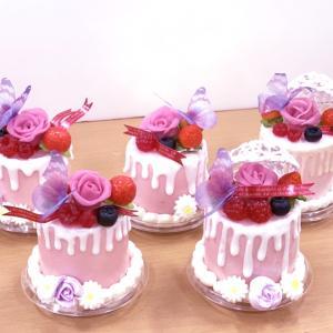アニバーサリーのケーキご参加ありがとうございました。