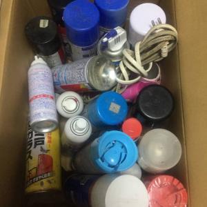 交野市からスプレー缶の処分…大阪・寝屋川市の便利屋/便利屋銀さん