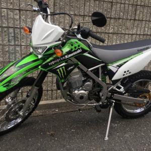 KLX125のミラー交換…大阪・寝屋川市の便利屋/便利屋銀さん