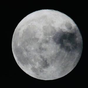 満月の撮影