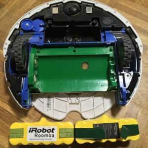 アイロボット(iRobot) ルンバのバッテリー交換。互換バッテリーだと安いのね。