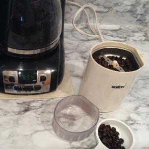 コーヒーを楽しむ