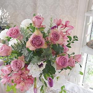 お花とともに幸せを届けたい【フラワーアレンジメント教室 西宮市】