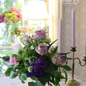 いつでも上質な花でフラワーアレンジメントを学べる【アトリエフィーズ西宮市】