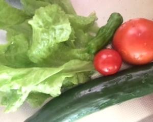 野菜収穫♪と5500円のお小遣い♪