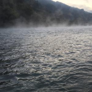 久しぶりの釣りは犀川で