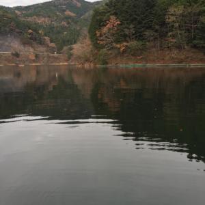 久しぶりな東古屋湖